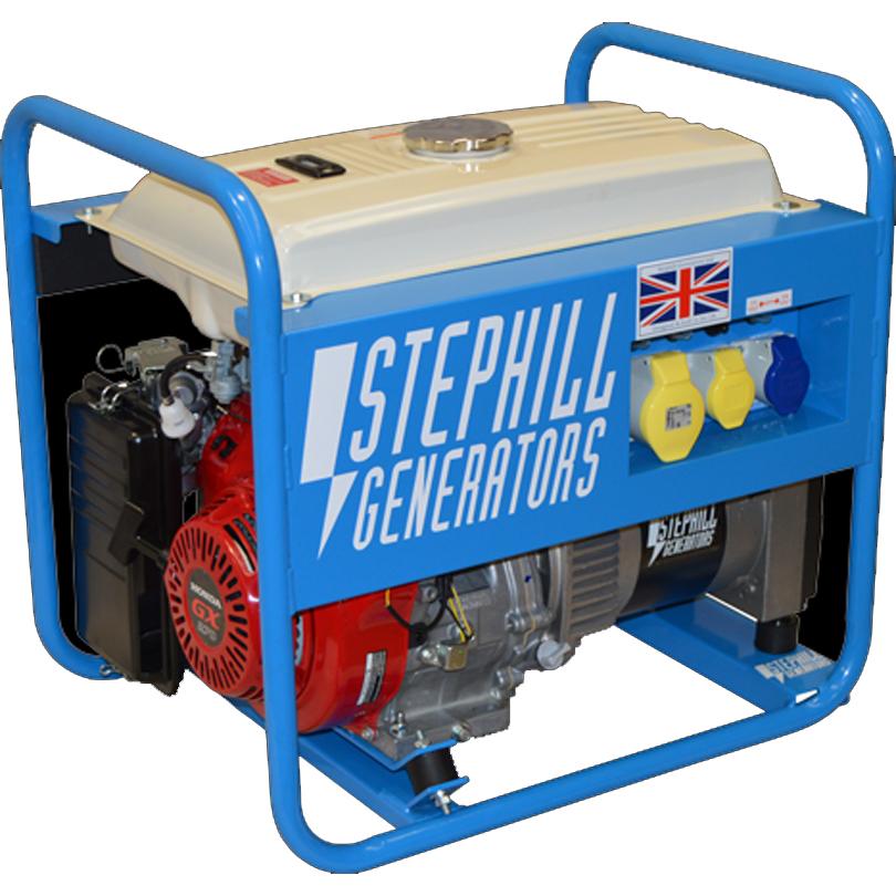 Stephill  Generator 5000LRT 5.0kva Long Range Tank Generator