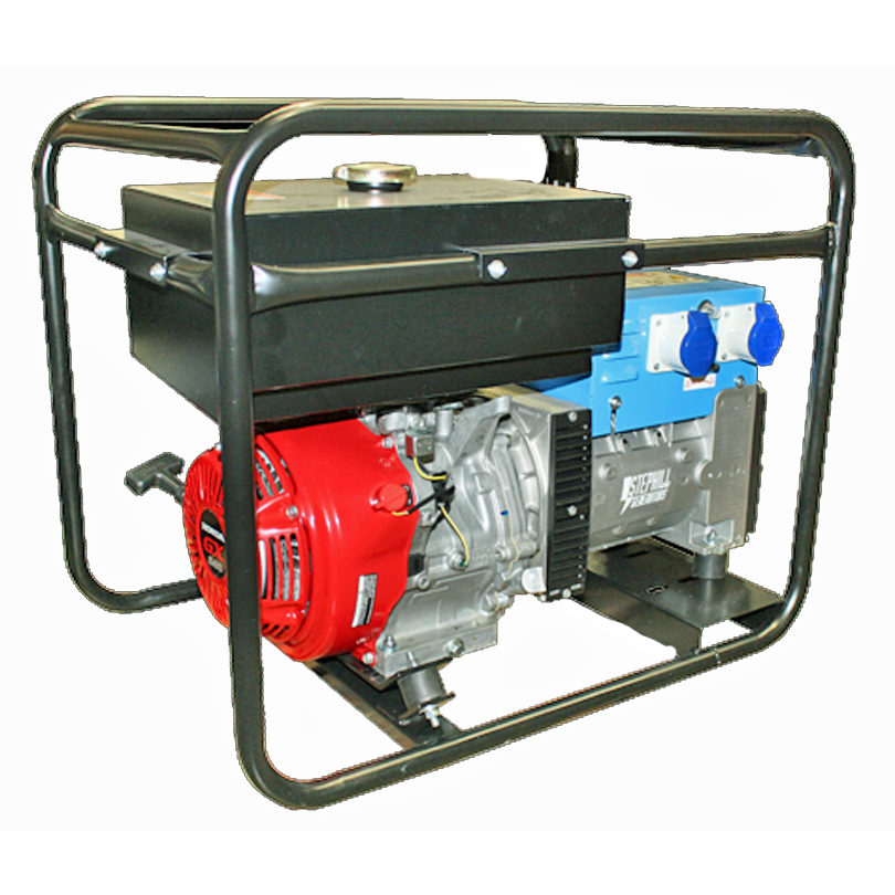 Stephill Generators 6500HMSLR 6.5 kVA Hire Max Long Range Generator
