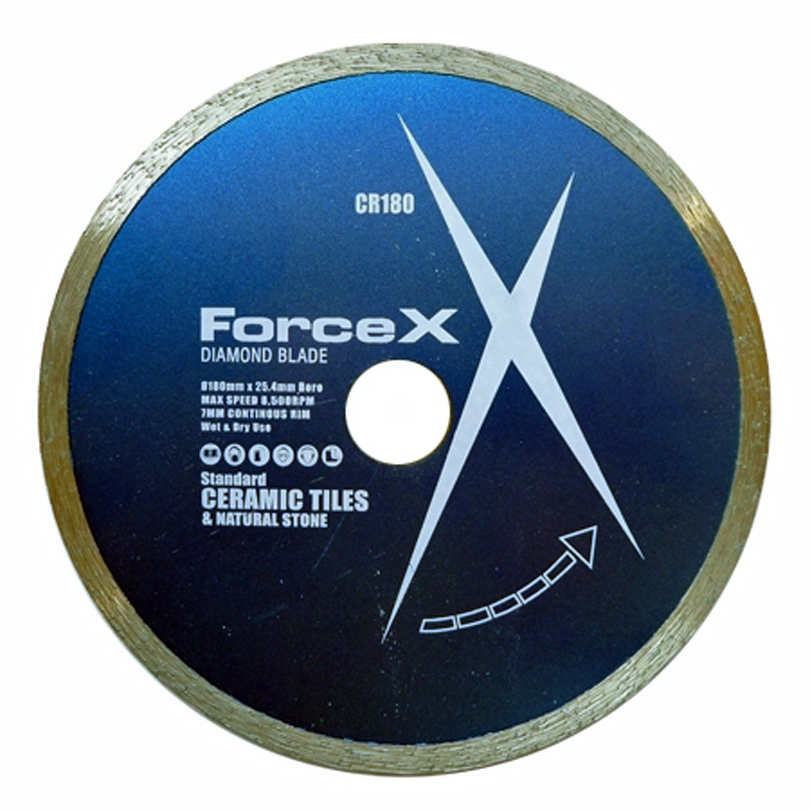 Force X Ceramic Diamond Blade 180 x 25.4