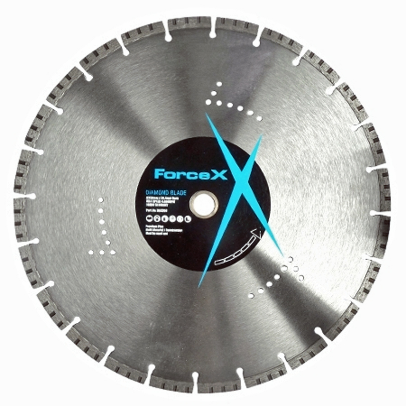 FORCE-X DBX350 350mm Turbo Diamond Blade