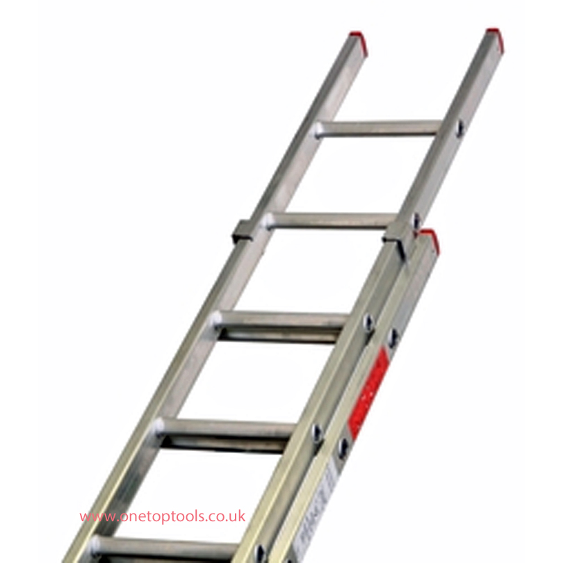 Lyte Ladders NBD235 3.3m/7.8m Aluminium 2-Section Domestic Ladder
