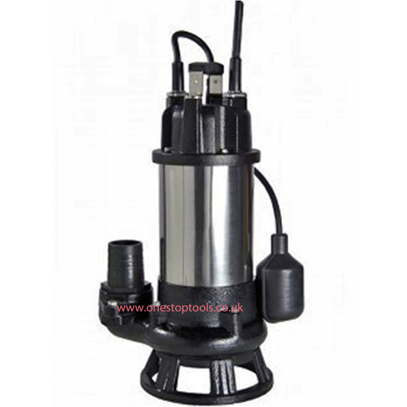 APP DSK10 50mm Unscreened Sewage Cutter Submersible Pump Autofloat 110v