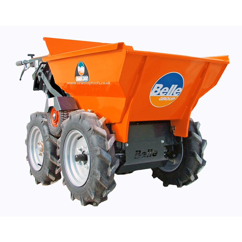Belle BMD300 4x4 Mini Dumper with Multipurpose tyres