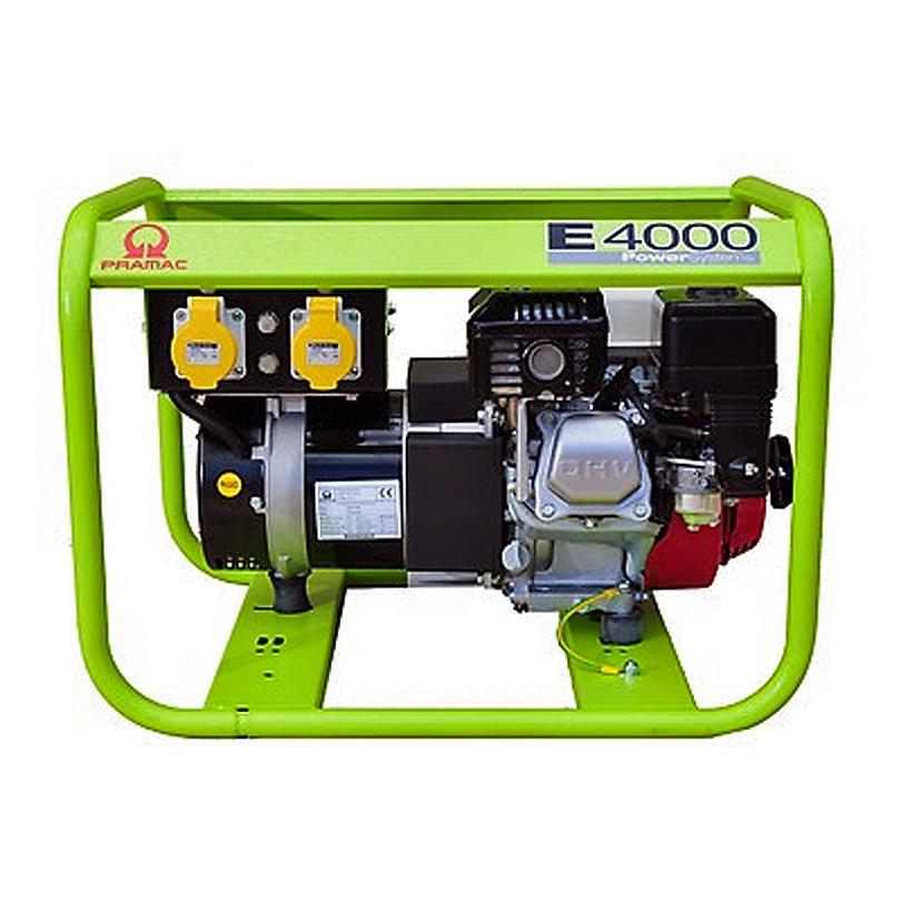 E4000 3.5kVA Standard Fuel Tank  3.5 kva Generator