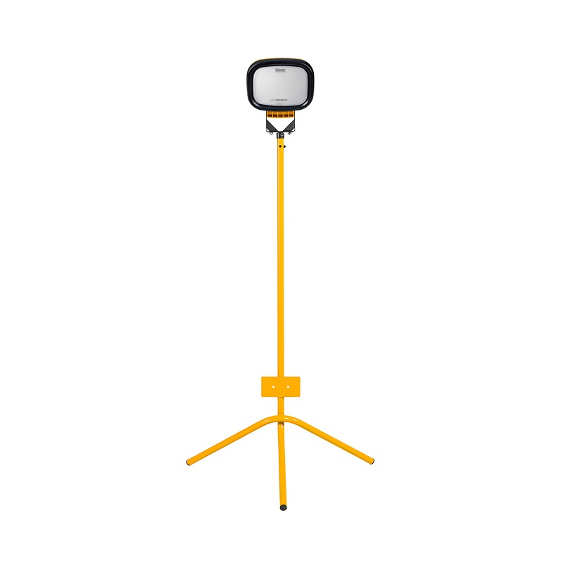 LED3000S SINGLE WITH FIXED LEG TRIPOD 110v