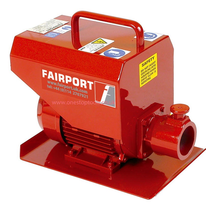 Fairport EMD Poker Unit 115v c/w Warsop Coupling
