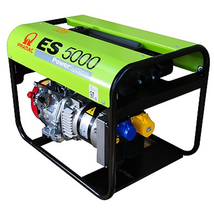 Pramac ES5000 6.3kva Long Run  3 Phase Generator