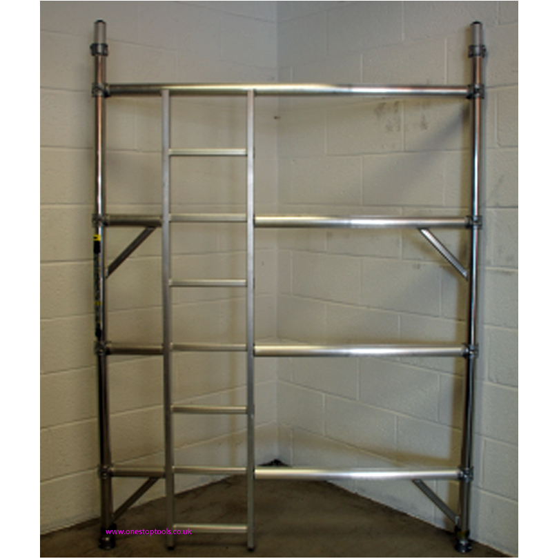 Lyte Helix Tower  1450mm 4 Rung Ladder Frame