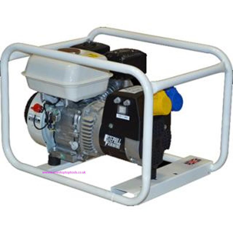 GE2500 2.5kVA Generator