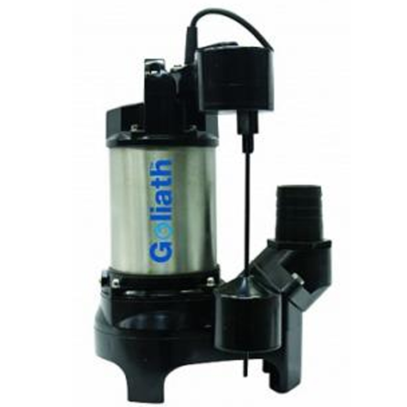 TT Pumps Goliath Automatic Sump Pump A Float 110v