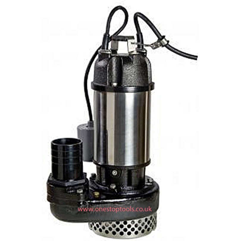 APP HD-15 80mm High Flow Site Drainage Submersible Pump Autofloat 240v