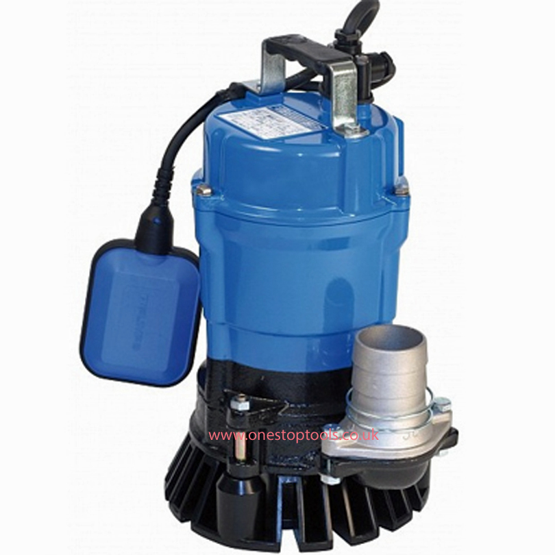 Tsurumi HS3-75 80mm Site Drainage Auto Float Submersible Water Pump 110v