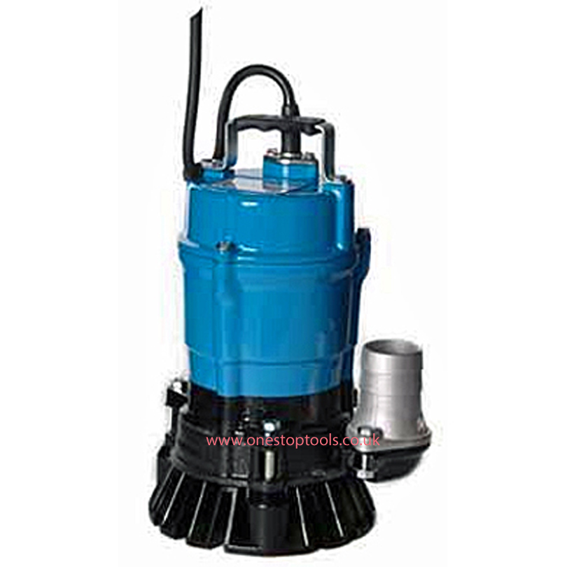 Tsurumi HS3-75 80mm Site Drainage Float Submersible Water Pump 240v