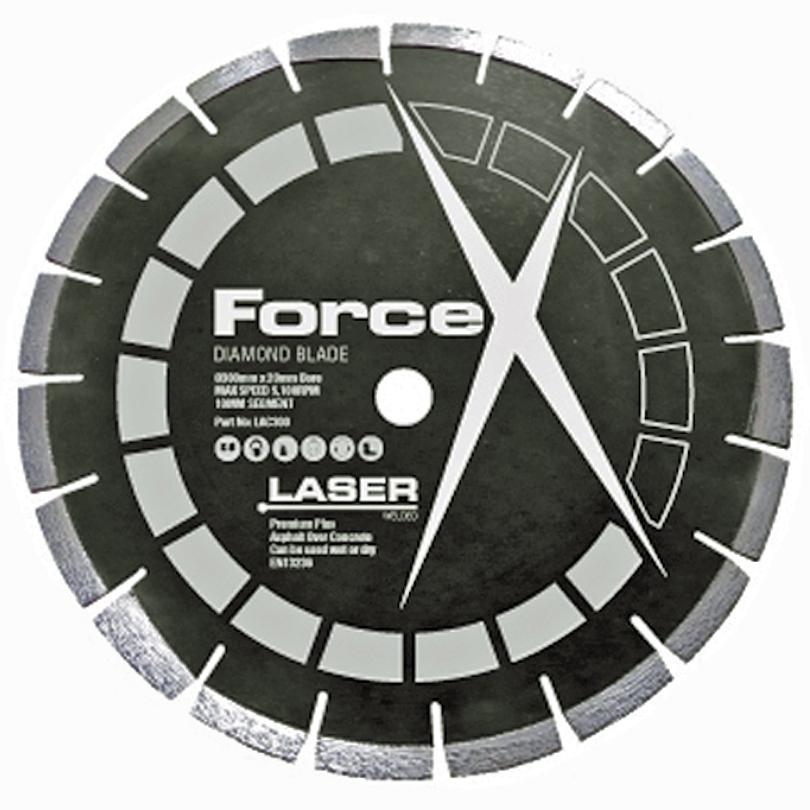 Force X LAC 350 350mm Premium Plus Asphalt Over Concrete Diamond Blade