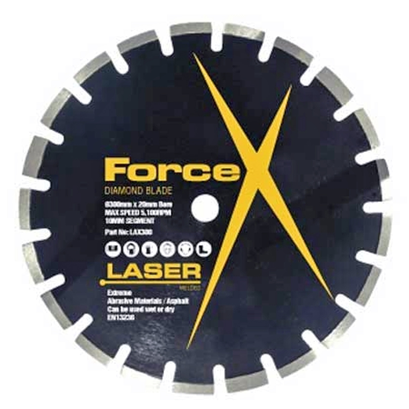 Force X LAX350 350mm Extreme Asphalt Floorsaw Blade
