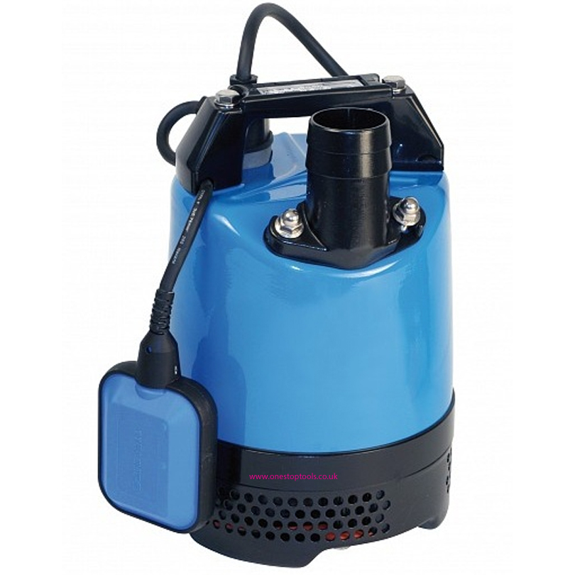 Tsurumi LB 480 50mm Site Drainage  Autofloat Submersible Water Pump 240v