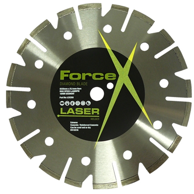 Force X LCX350 Concrete Floorsaw Diamond Blade