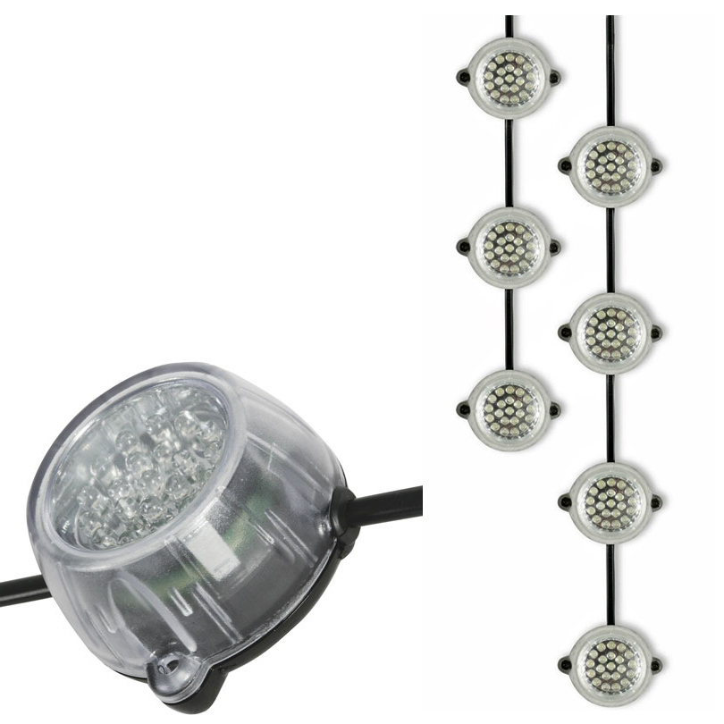 Defender LED Festoon Hanging Light Chain 50mtr 110v