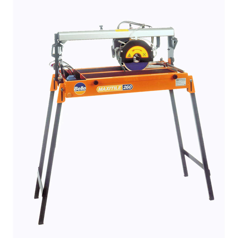 Belle Maxitile 260 Tile Cutter c\w stand  240v