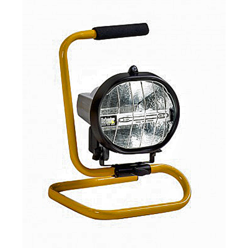 Defender 400w Tungsten Halogen Floor  Light 110v