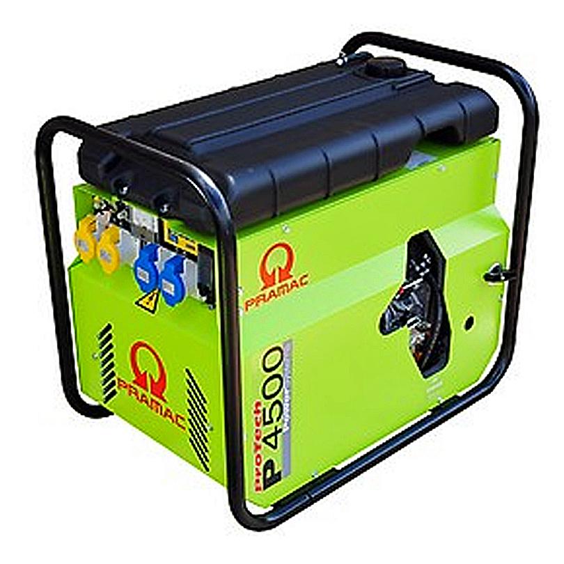 Pramac P4500  3.79 kVA Standard Silenced Diesel Generator Electric Start