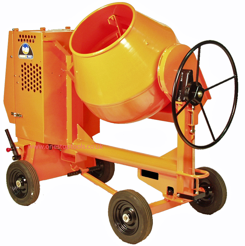 Premier 200XT PM42 Site Cement Mixer 110v