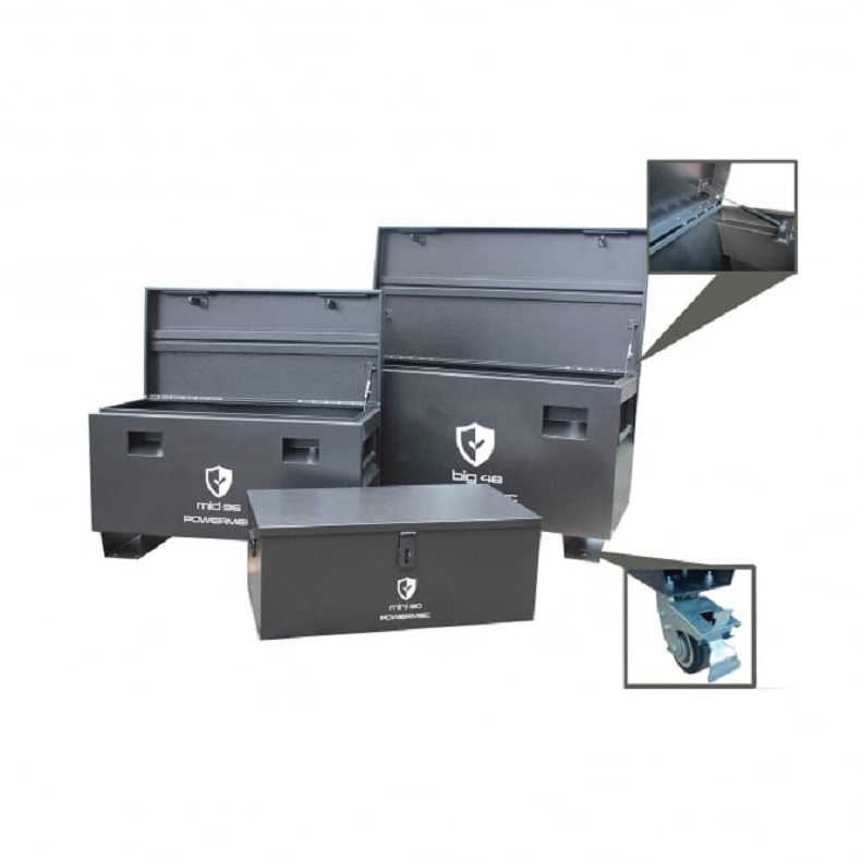 SECURE SITE TOOL BOX SET Anti-corrosion protection