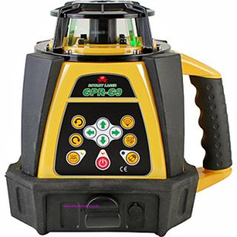 Proline GPR R9H Rotary Laser Level c\w 5m Staff and Tripod