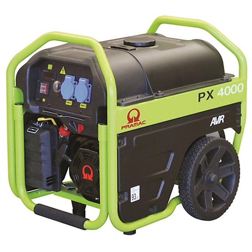 Pramac  PX4000 3kVA AVR Petrol Generator