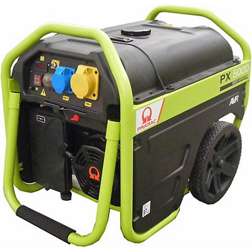 Pramac PX5000 4kVA AVR Petrol  Generator
