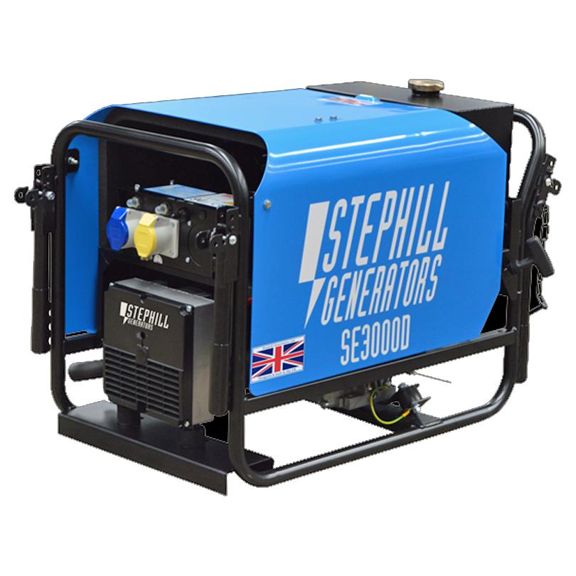 Stephill Generators SE3000D 2.6kVA Silenced Diesel Generator