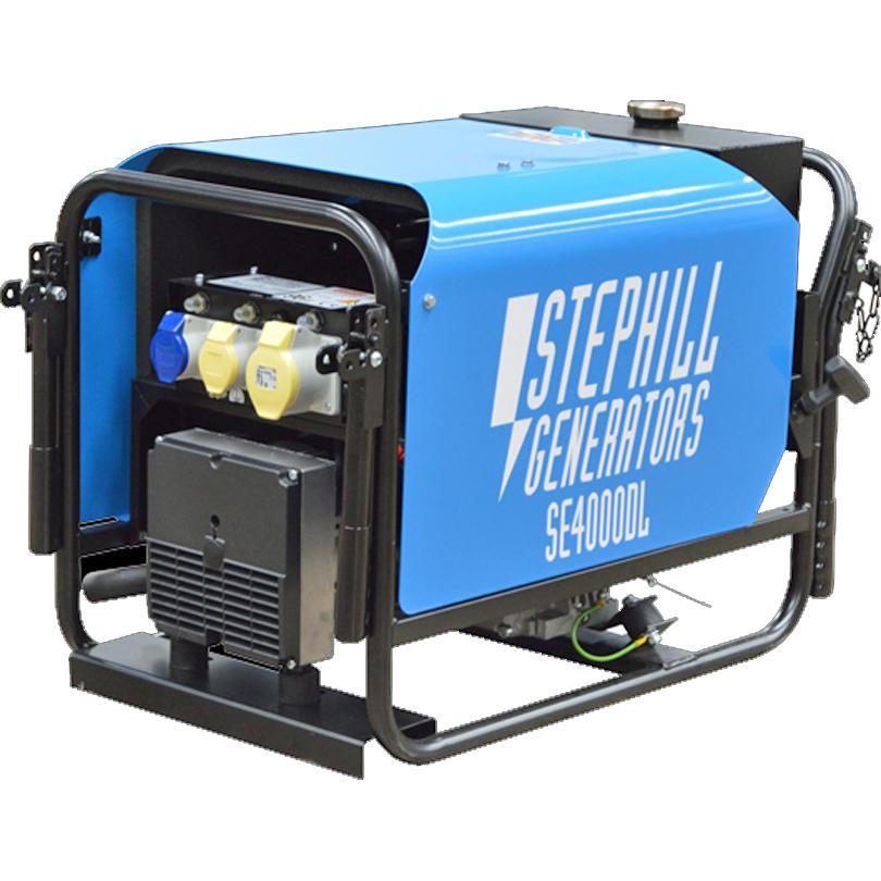 Stephill Generator 4kVA  Silence Diesel  Generator SE4000DLES Electric