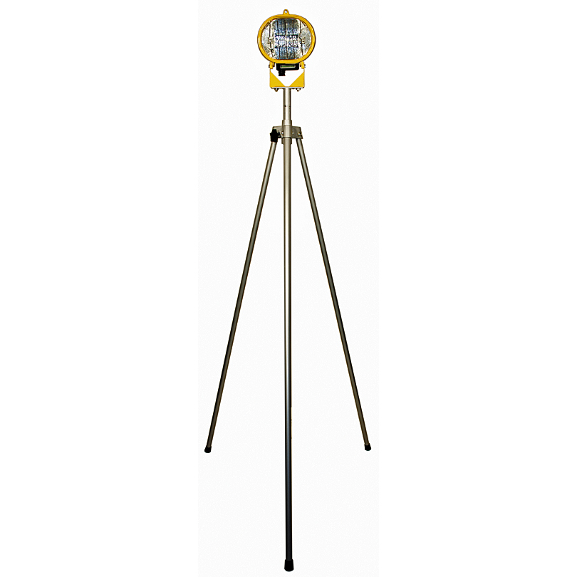 Elite 500w Extended Swing Tripod Single Halogen Site Light 110v