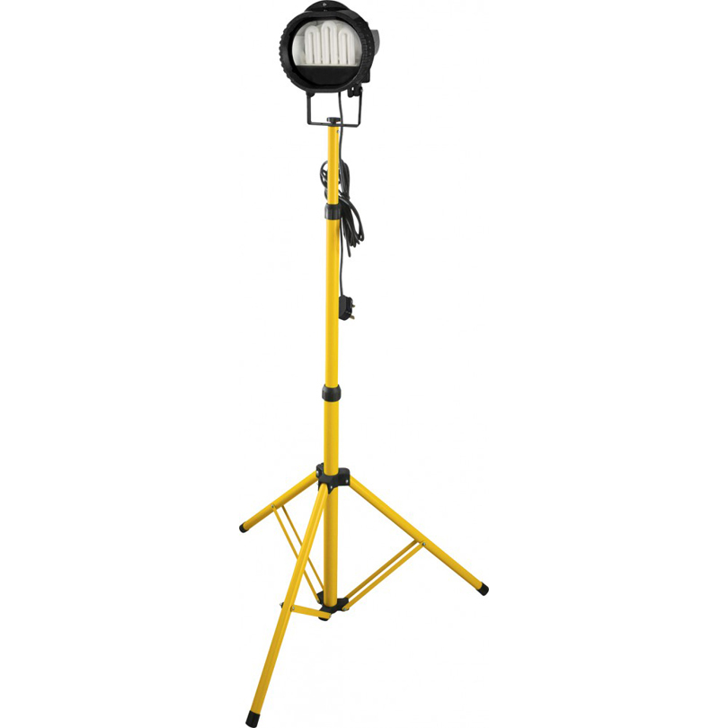 Powerman 500w Tungsten Halogen Telescopic Tripod Flood Light 110v