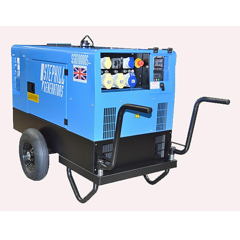 Diesel Trolley Kit for SSD10000 Generator