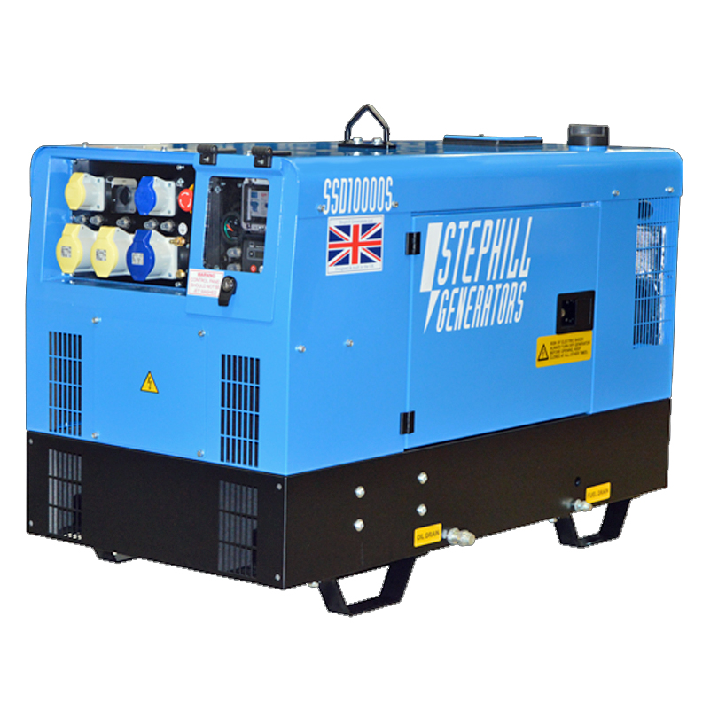 Stephill SSD10000S 10.0kVA Super Silent Diesel Generator