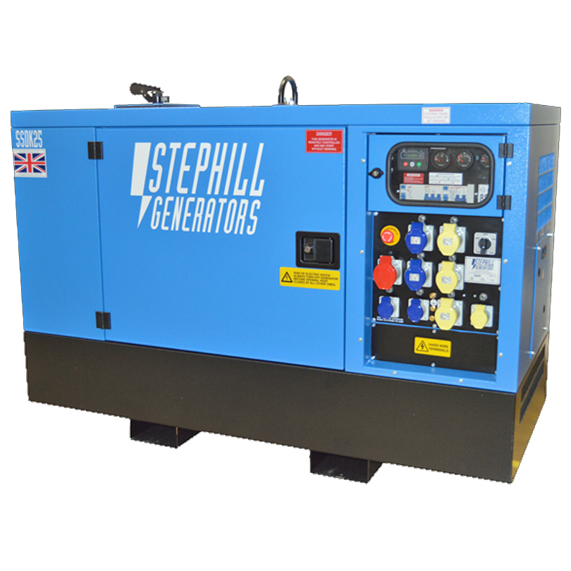 Stephill SSDK25 25kVA Super Silent Diesel  Generator