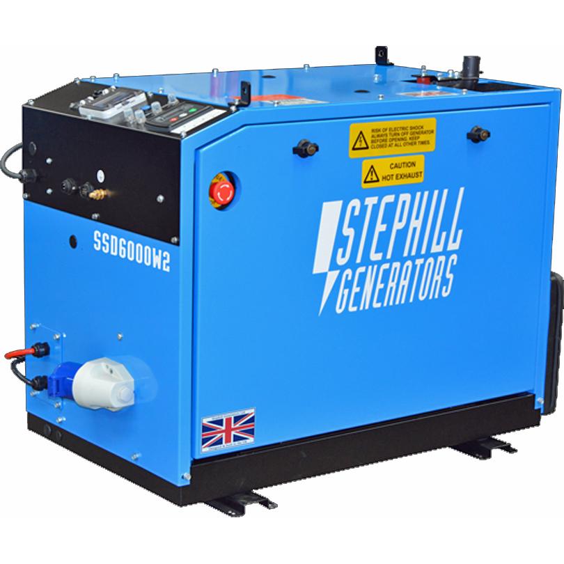 STEPHILL SSD6000W 6 Kva WELFARE Diesel Generator
