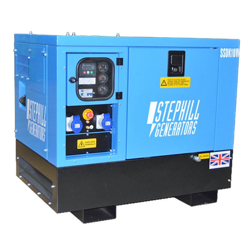 Stephill SSDK10W 10kVA  Silence Welfare Single Phase Diesel Generator