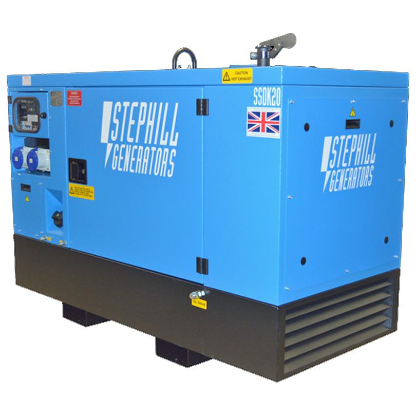 Stephill SSDK12 12kVA  Super Silence Diesel Generator