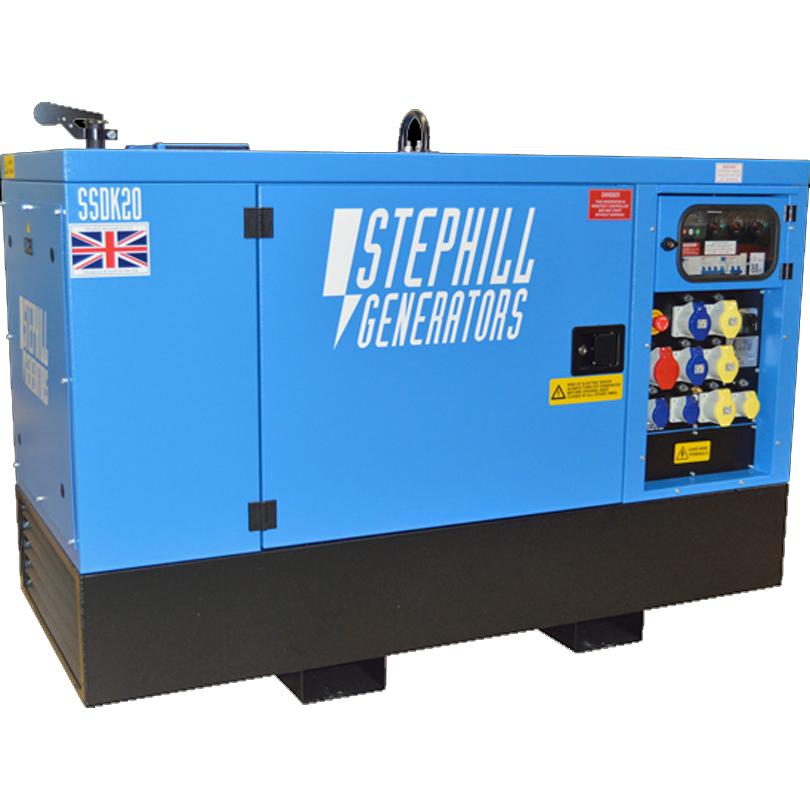 Stephill SSDK16 16kVA Super Silent Diesel Generator