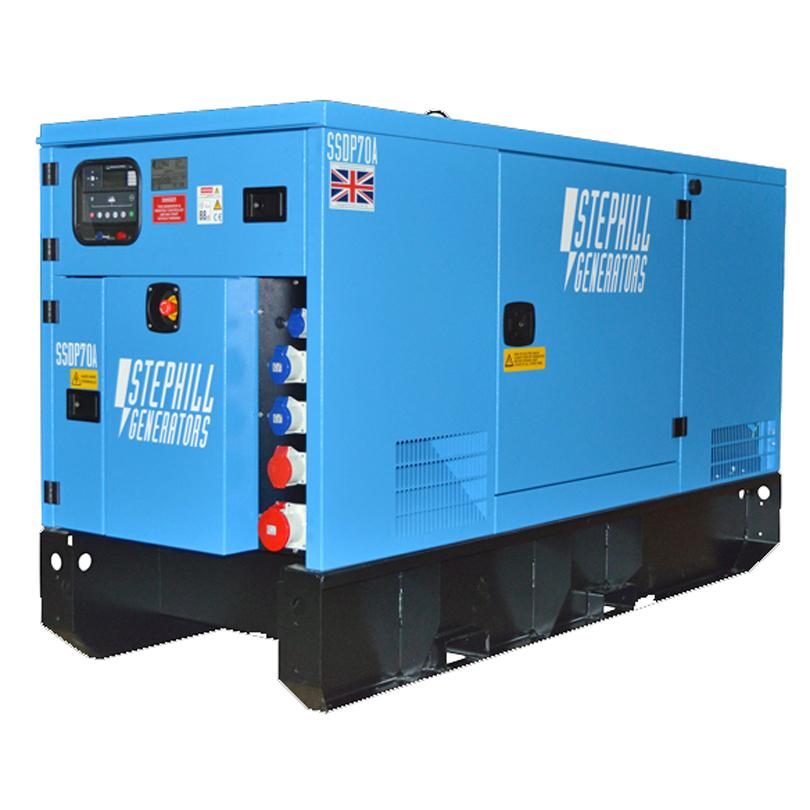 Stephill SSDP70  67kVA (53.6KW) 50HZ / 3 Phase 400/230V Generator
