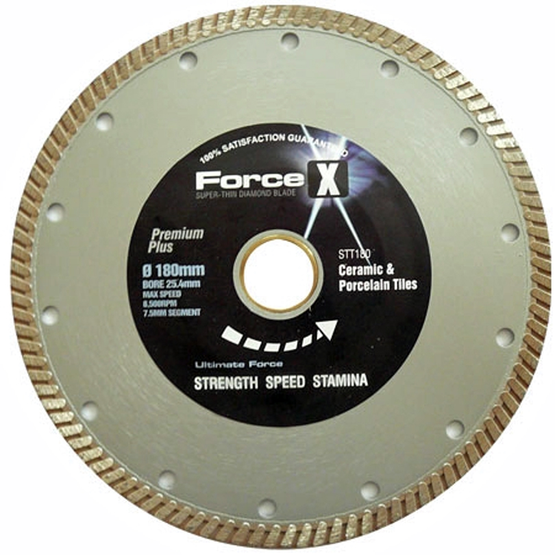 Super-Thin Porcelain Tile Turbo Diamond Blade 180mm