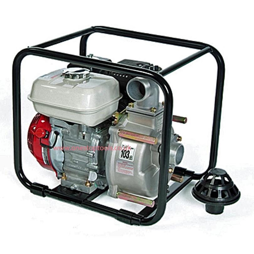 Tsurumi TDS50HA 50mm Petrol Semi Trash Centrifugal Water Pump