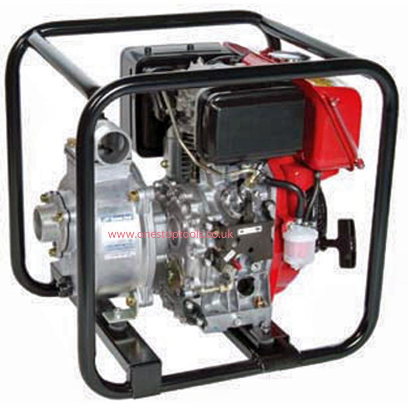 Tsurumi Pump TE3-80RD 80mm Drainage Diesel Centrifugal Water Pump