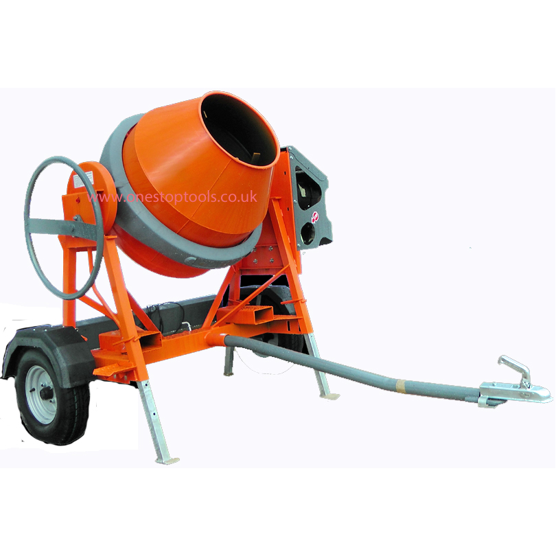 AT350 Road Tow  Site Cement Mixer Honda GX160
