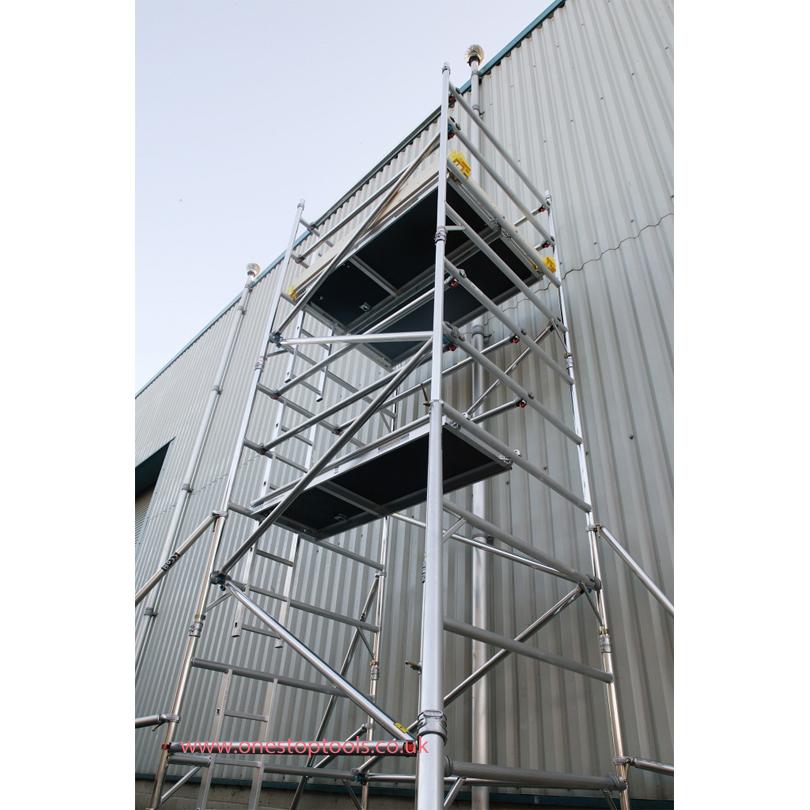 Lyte Helix Double Width 1450 x 2.5m Access Tower Platform  6.7m