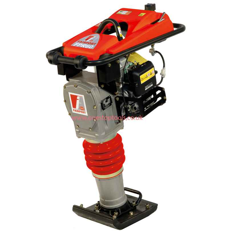 Fairport FPR60H 4 Stroke Trench Rammer Shoe Size 265 x 335mm