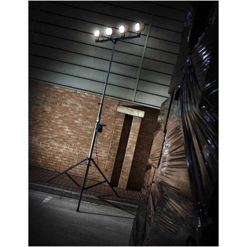 Defender Winch Mast With 4 LED 6000 110v